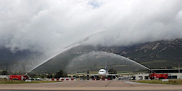 Avec 1 025 435 de passagers, le trafic du mois de juin atteint un nouveau record en Corse
