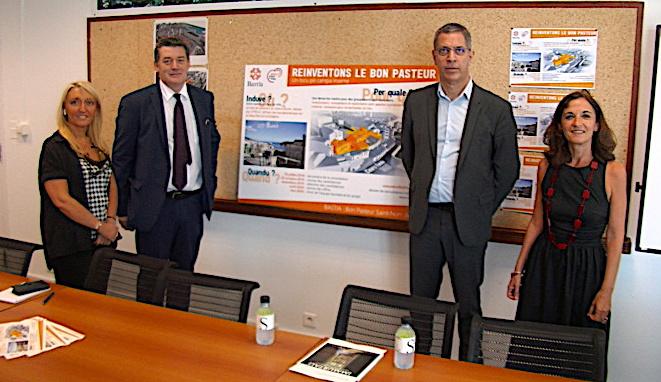Repésentants de l'Etat et de la ville de Bastia ont lancé jeudi l'appel à projet pour la réhabilitation du quartier du Bon Pasteur à Bastia