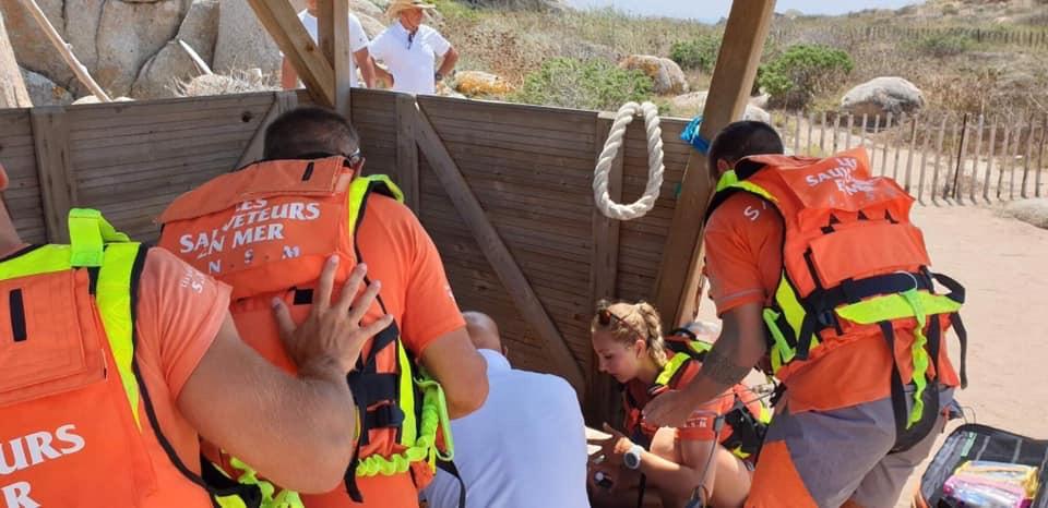 Ile Lavezzi : victime d'un malaise cardiaque elle est évacuée par hélicoptère à Ajaccio