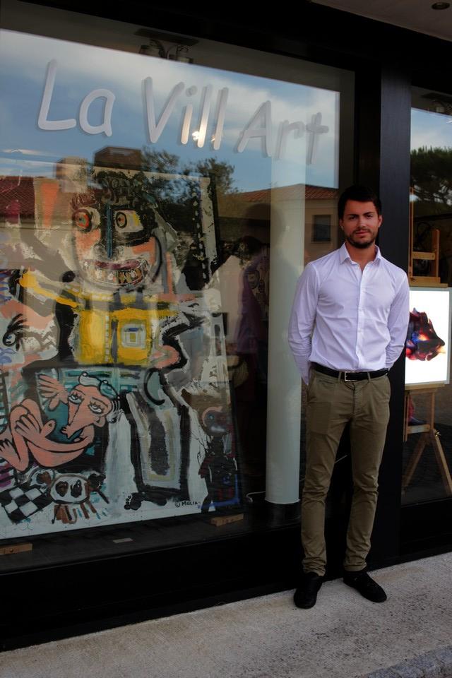 Antoine Pinelli passionné d'art