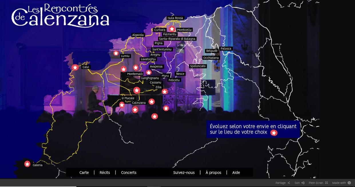 E strade di l'Armunia: un web documentaire pour promouvoir les Rencontres Musicales de Calenzana