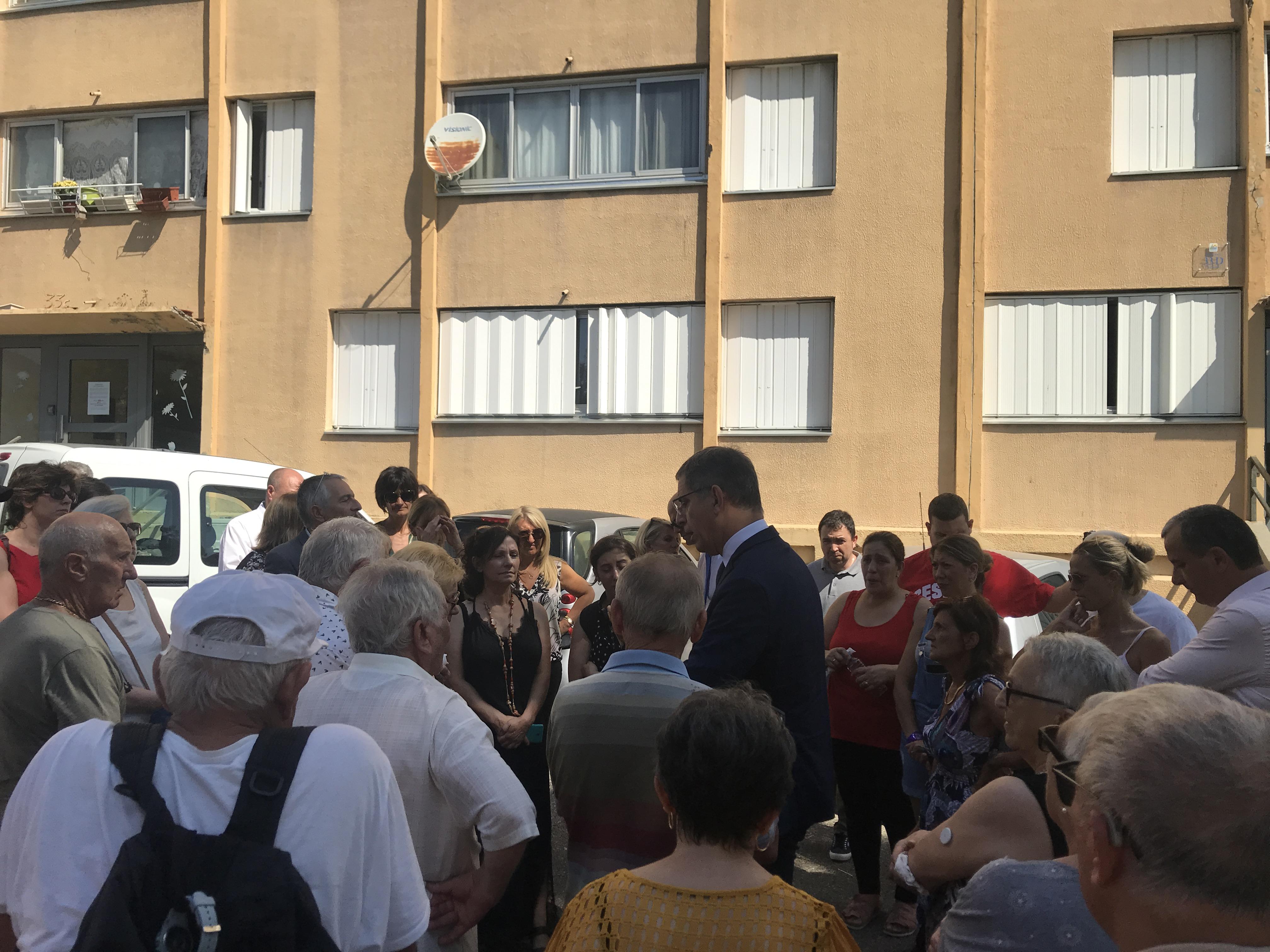 Cité des Monts de Bastia : le comité de copilotage de l'ANRU valide le projet, les habitants protestent