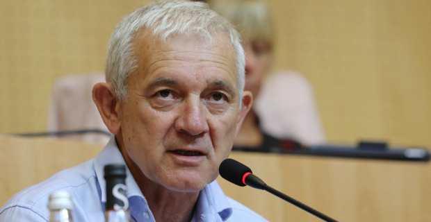 François Orlandi, conseiller territorial du groupe Anda per Dumane. Photo Michel Luccioni.