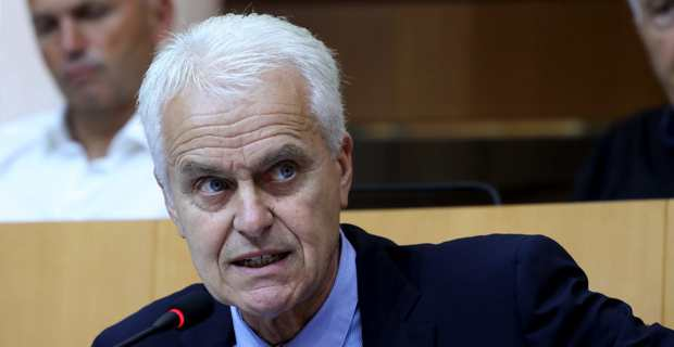 Jean-Louis Delpoux, conseiller territorial du groupe Per L'Avvene. Photo Michel Luccioni.