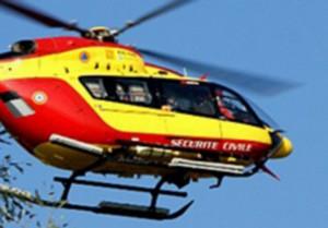 Une jeune fille renversée par une voiture évacuée dans un état grave par hélicoptère