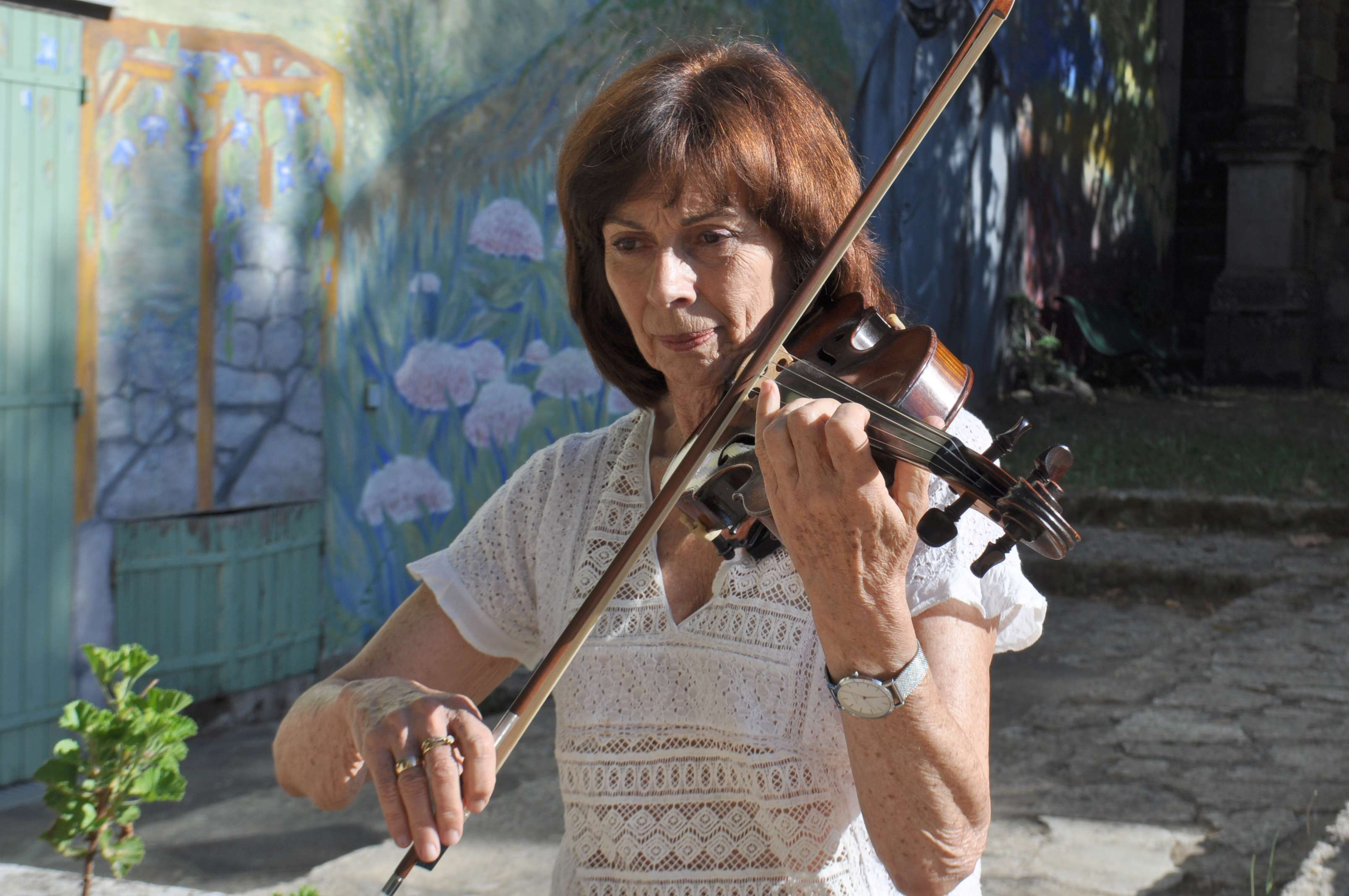 Sorru in Musica : Christiane Picciocchi, violon elle aussi...