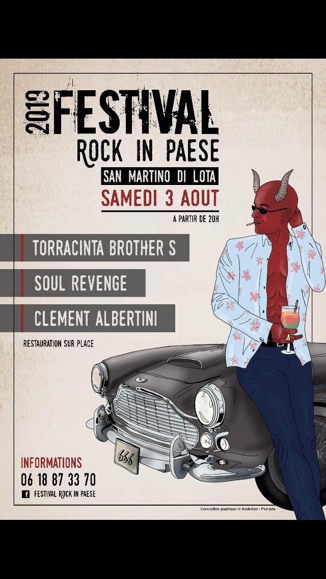Rock in Paese de retour à San Martinu pour une deuxième édition !