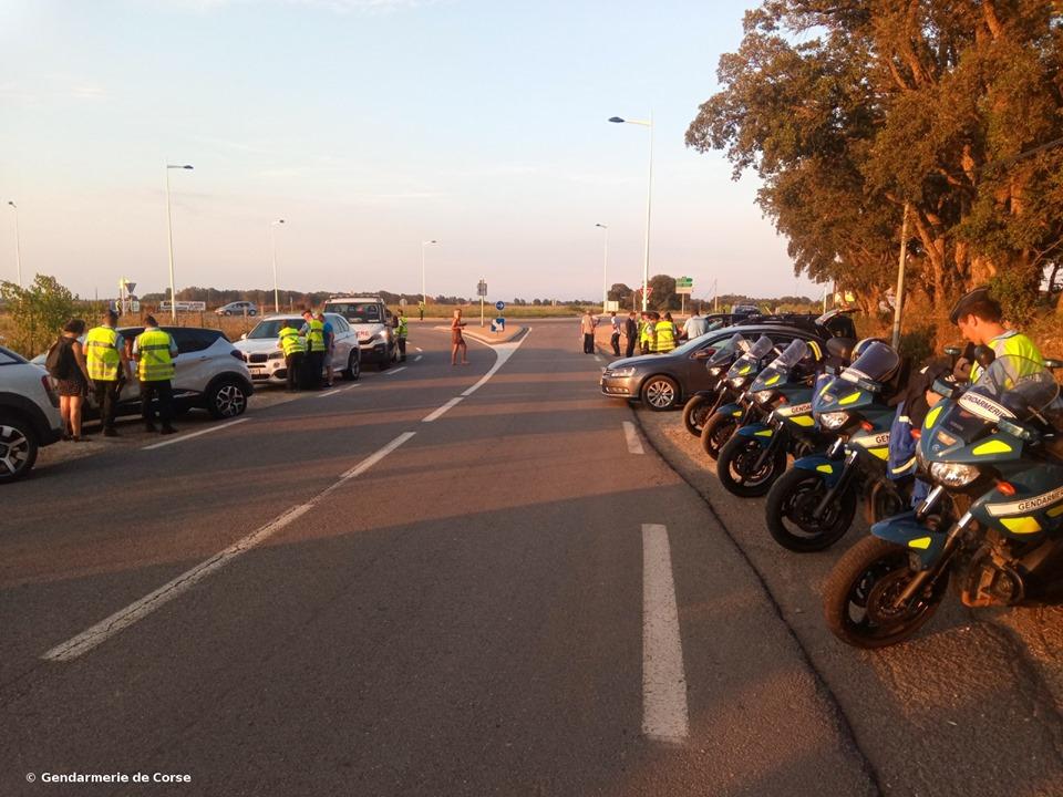 Route territoriale 11 : Un motard alcoolisé roulait à 216 km/h