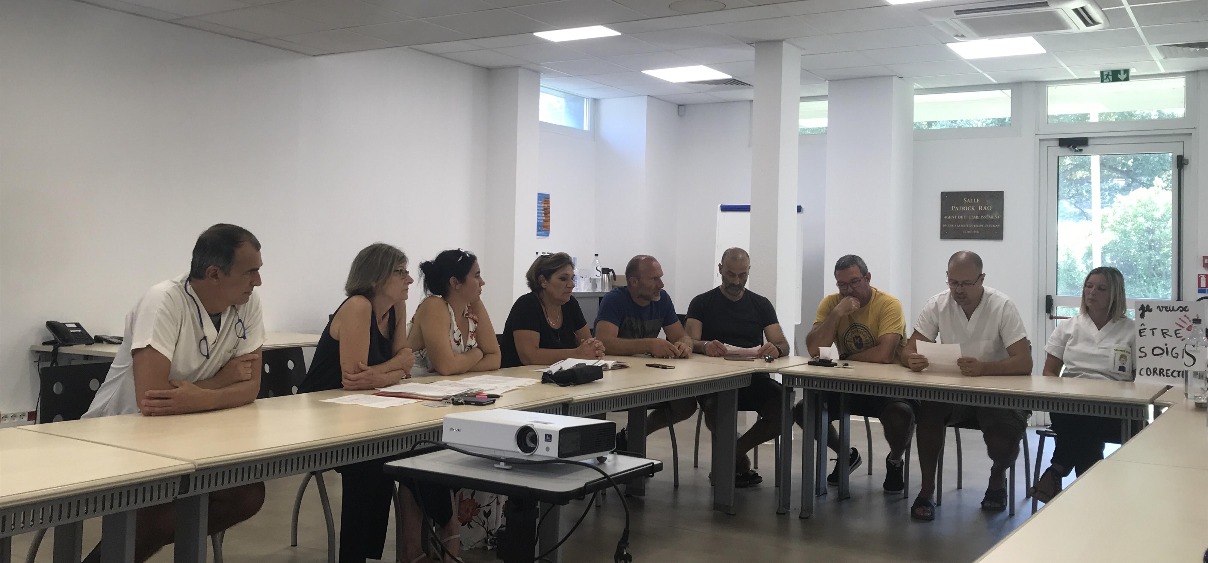 """Josette Risterucci  : """"on a l'impression que l'ARS veut gagner du temps"""" à l'hôpital de Bastia"""
