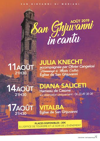 San Ghjuvanni in'cantu : le nouveau festival de musique de la Costa Verde