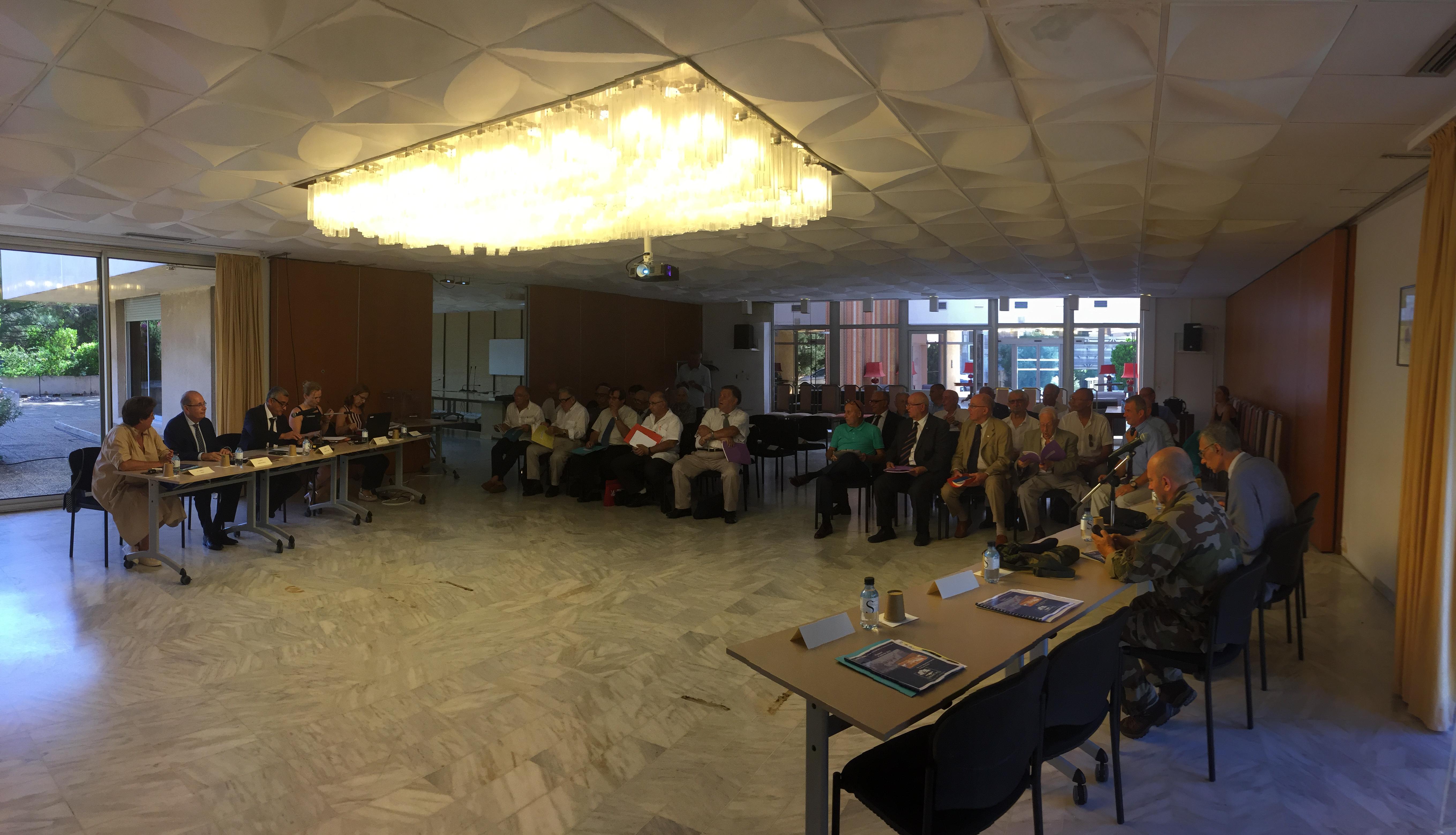 Sous la présidence du Directeur de Cabinet du préfet de Haute Corse, séance pleinière annuelle du Conseil départemental pour les Anciens combattants et victimes de la guerre et la mémoire de la nation