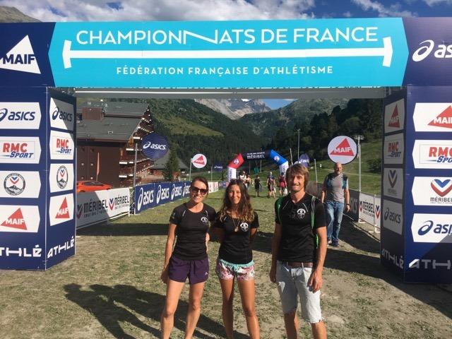Les Corses aux championnats de France de Trail