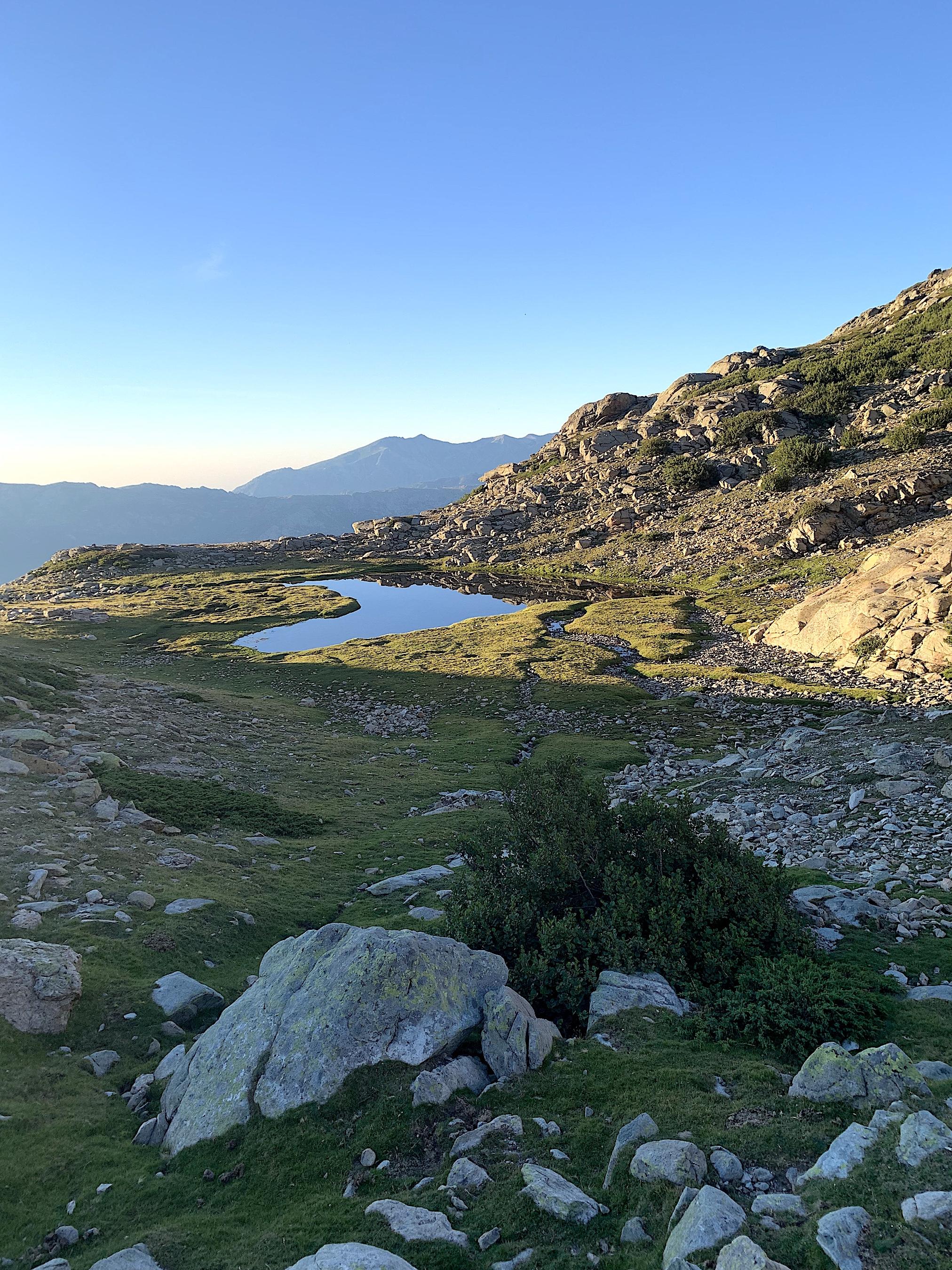 La photo du jour : le cœur du lac d'Ochji Neri