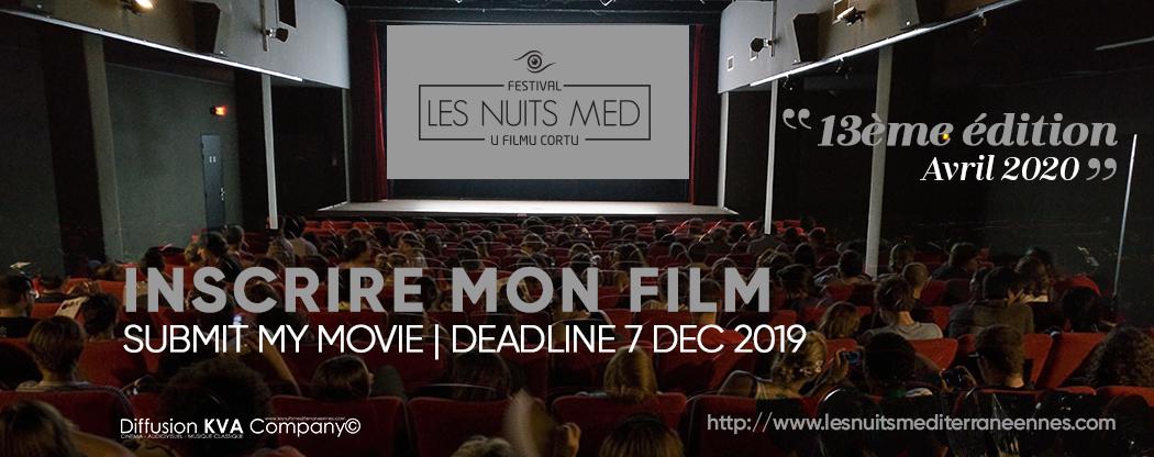 Festival Nuits MED di u Filmu Cortu 2020 : qui veut participer ?