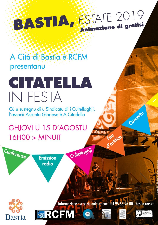 VIDÉO - La 4ème édition de « Citadella in Festa » c'est ce 15 août