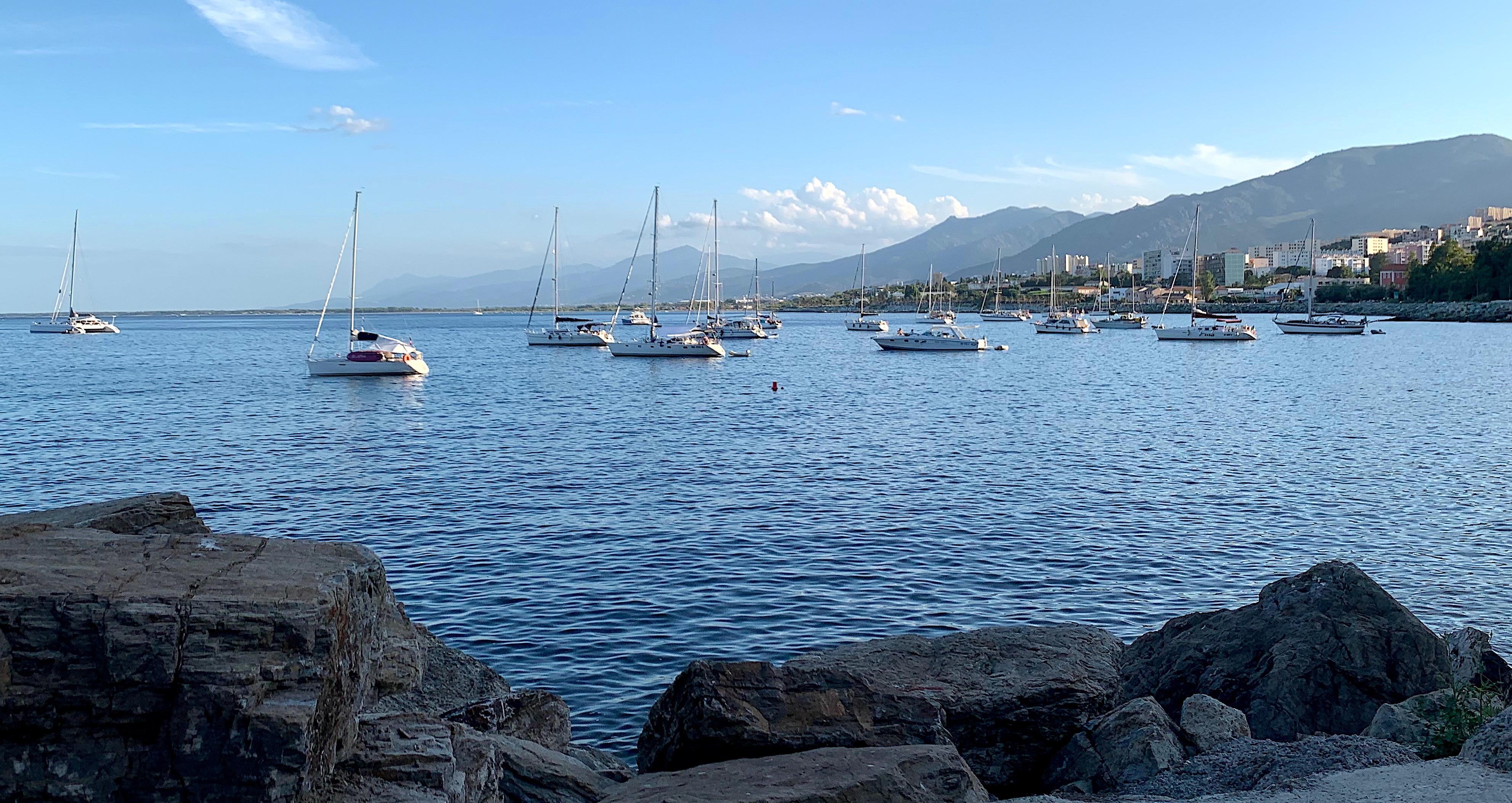 L'anse de Ficaghjola abri naturel de Bastia