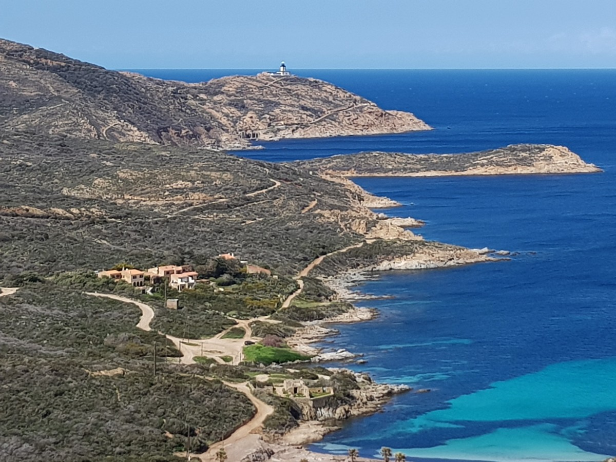 Interdiction de Baignade plage de l'Alga à la pointe de la Revellata