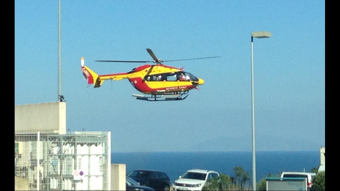 Accident de canyon dans le Verghellu : une jeune fille évacuée sur l'hôpital de Bastia