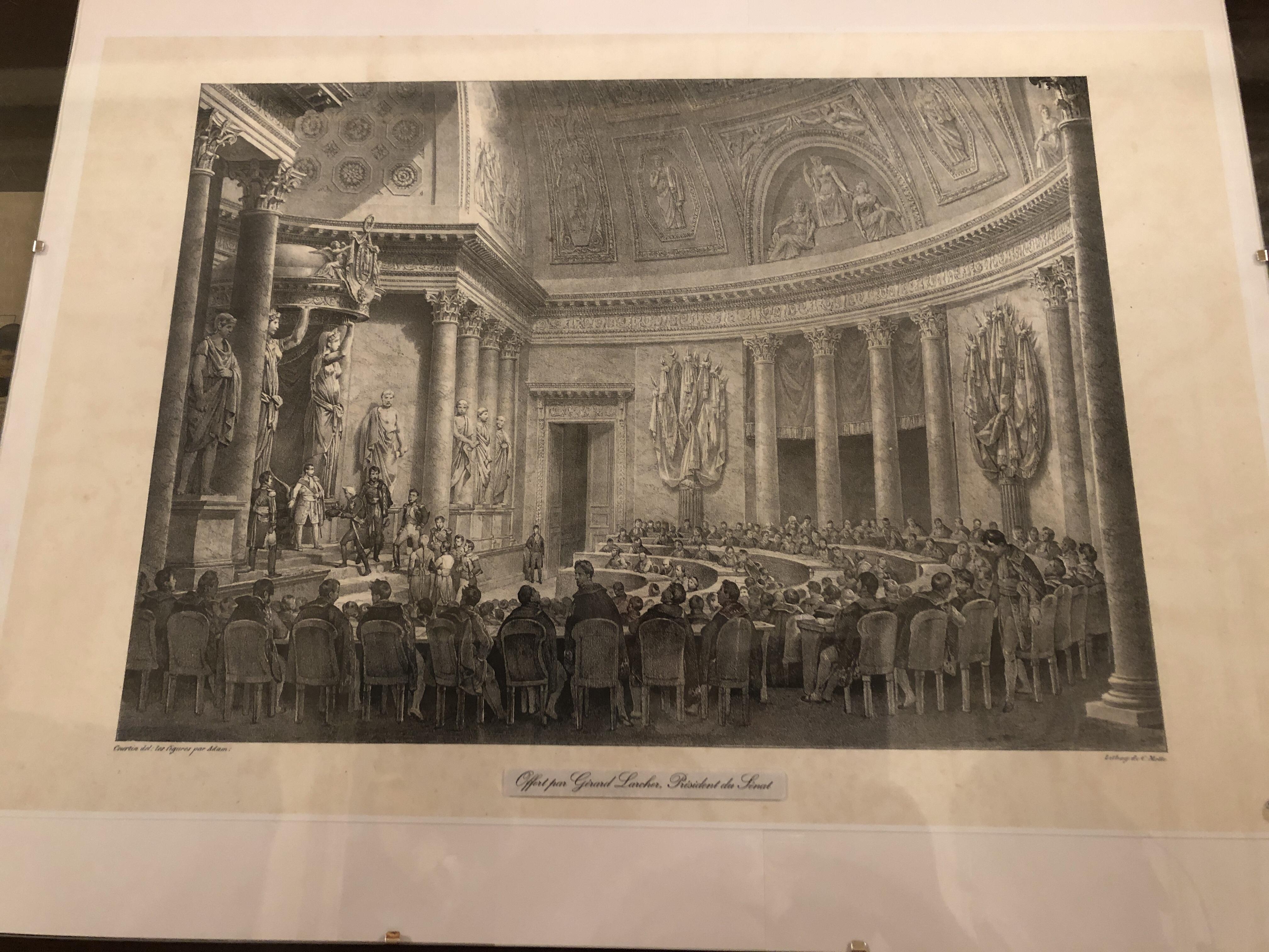 Gérard Larcher, Président du Sénat à Ajaccio pour le 250ème anniversaire de la naissance de Napoléon