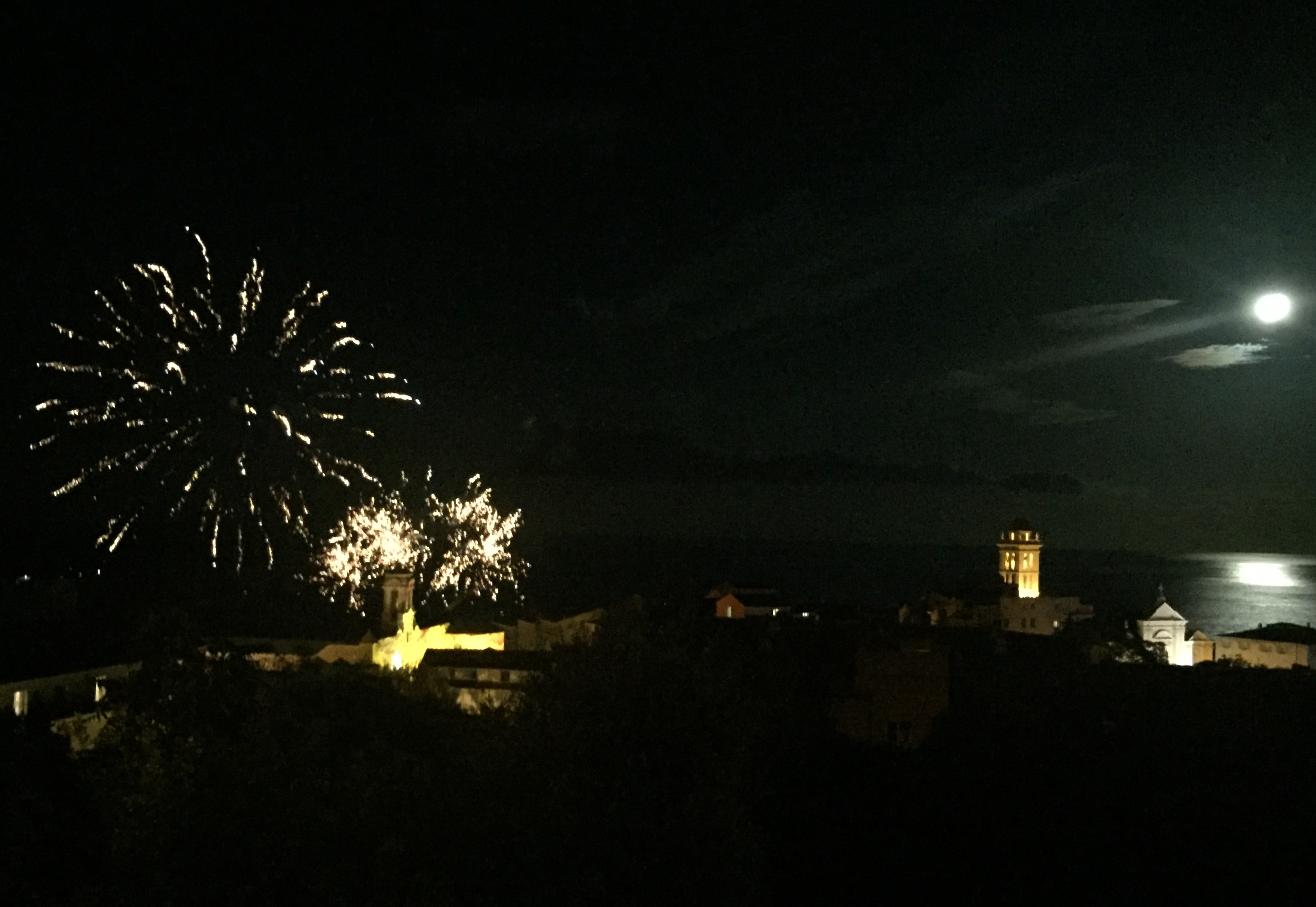 En images : le feu d'artifice de Bastia