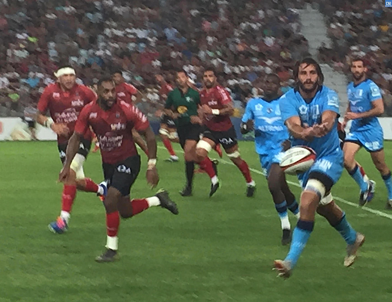 Rugby : Toulon finit mieux que Montpellier devant 7 500 spectateurs à Furiani !