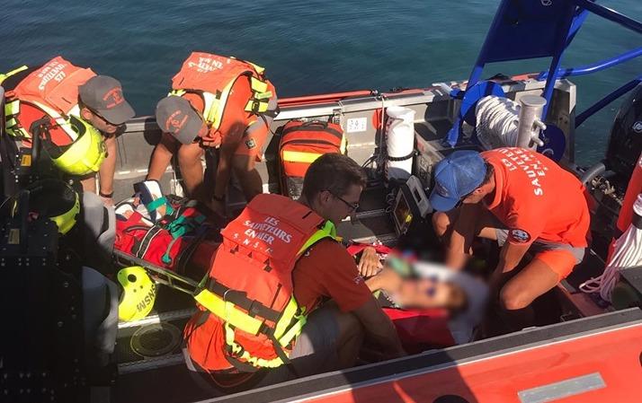 @Les sauveteurs en mer Propriano