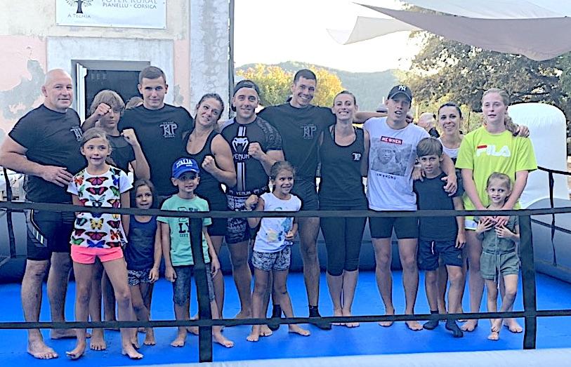 Pianellu : le KTP MMA Scola de Furiani au cœur  de la Corse