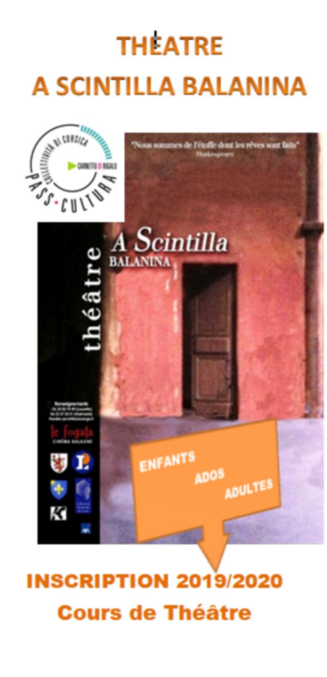 Le Théâtre A Scintilla Balanina fait sa rentrée