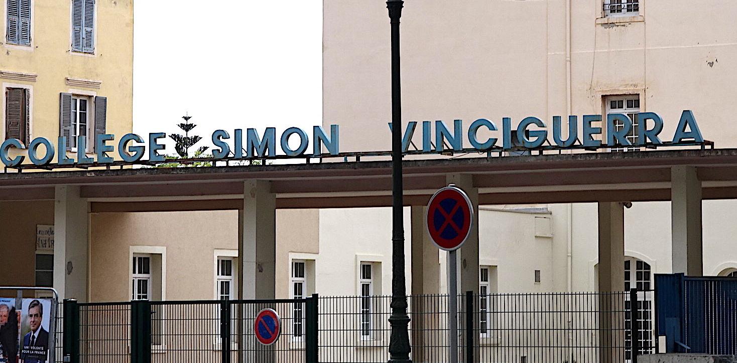 Bastia : La rentrée au collège Simon-Vinciguerra