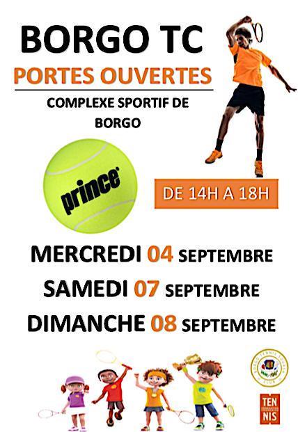 Journées portes ouvertes au Borgo TC