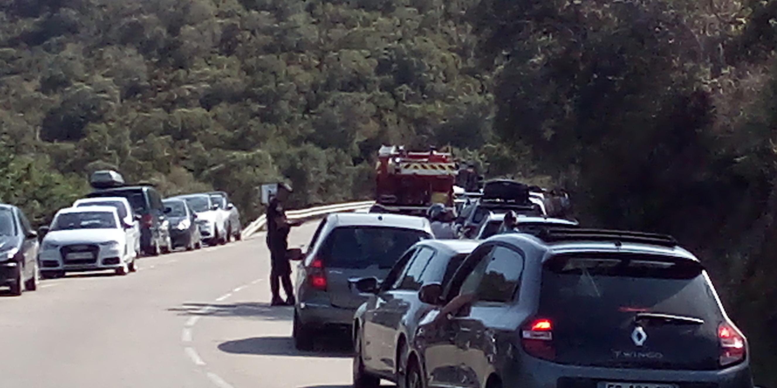 Accident de la circulation à Fautea