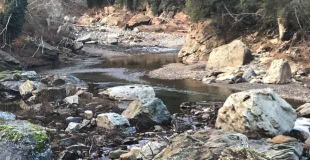 Fréquentation des cours d'eau interdite en Corse-du-Sud