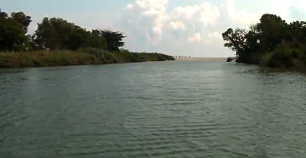 Le fleuve Fium'Orbu.