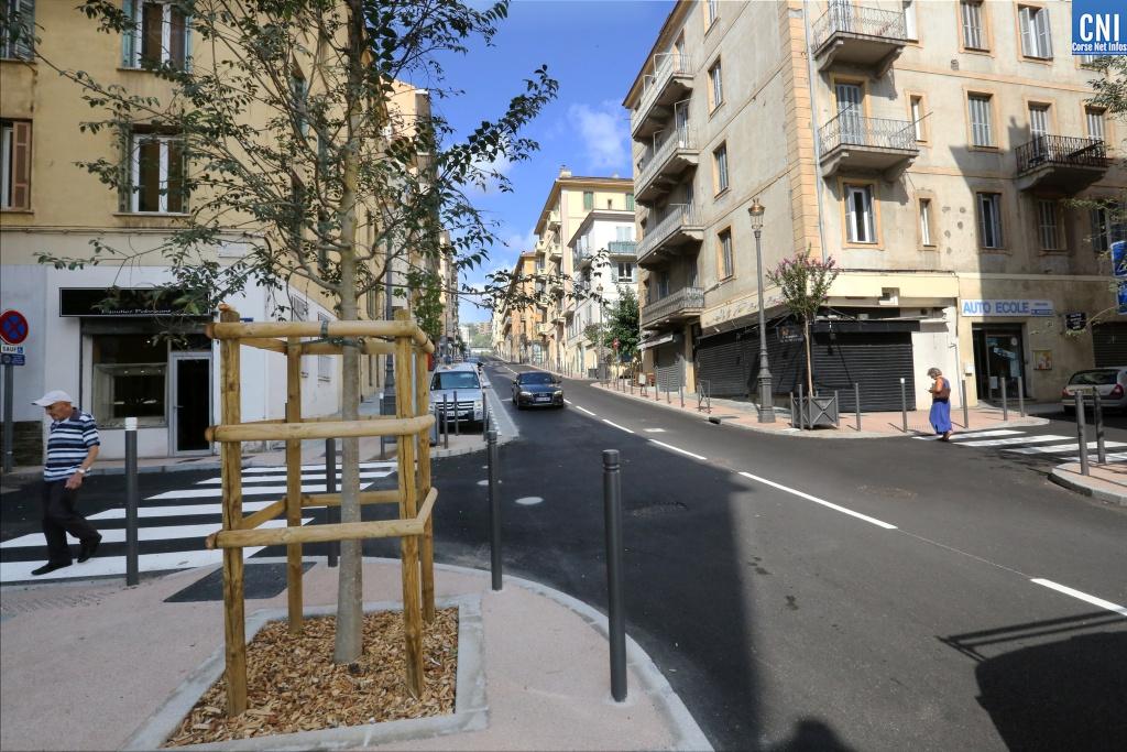 Ajaccio : L'avenue Beverini-Vico de nouveau ouverte à la circulation