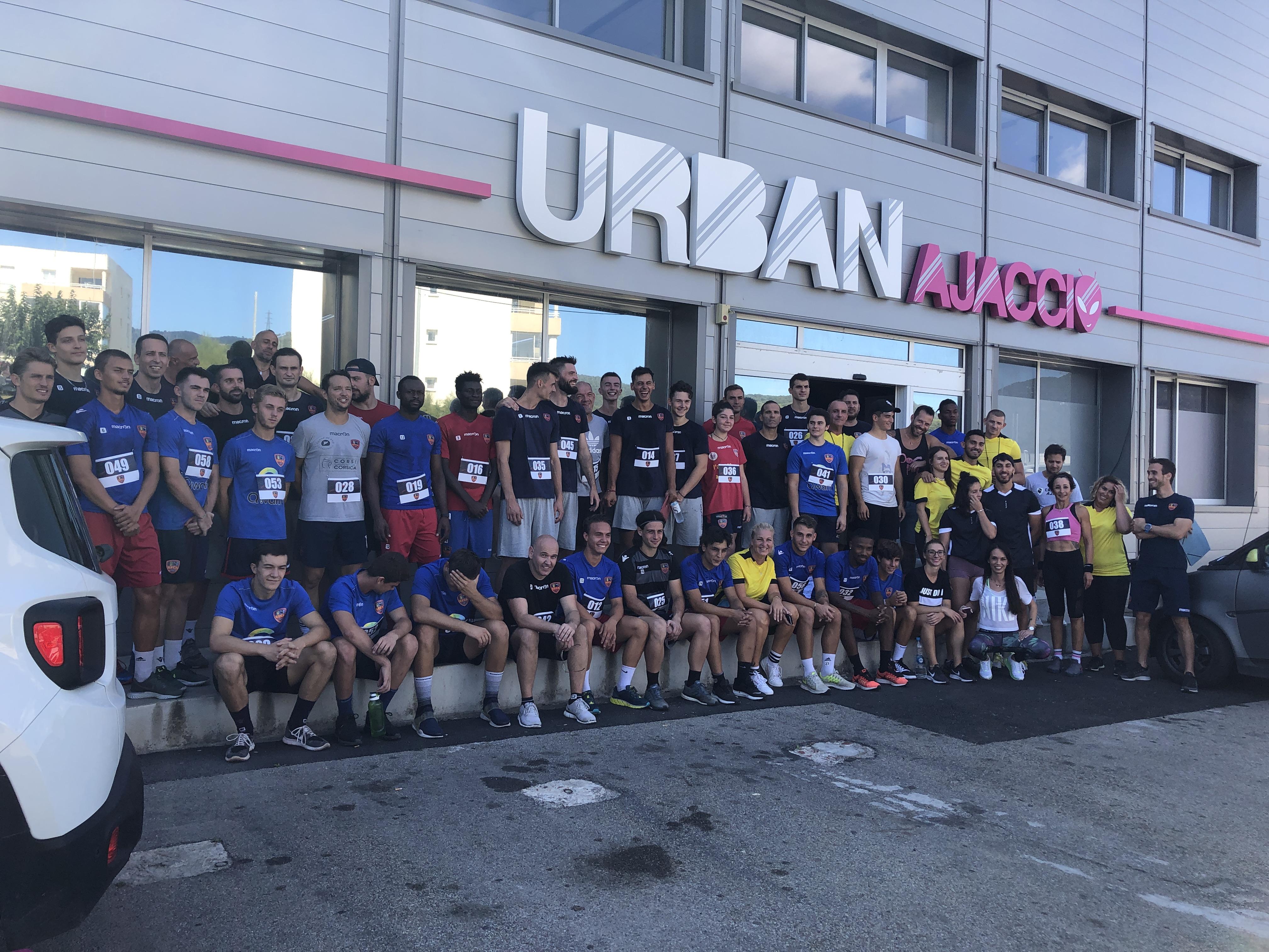 Un «urban challenge» pour réunir le GFCA Football, Handball et Volley-ball