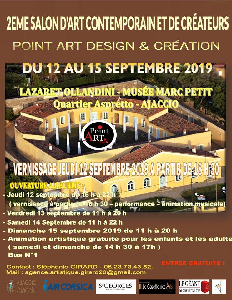 Ajaccio : Le deuxième salon d'art contemporaine du 12 au 15 septembre au Lazaret