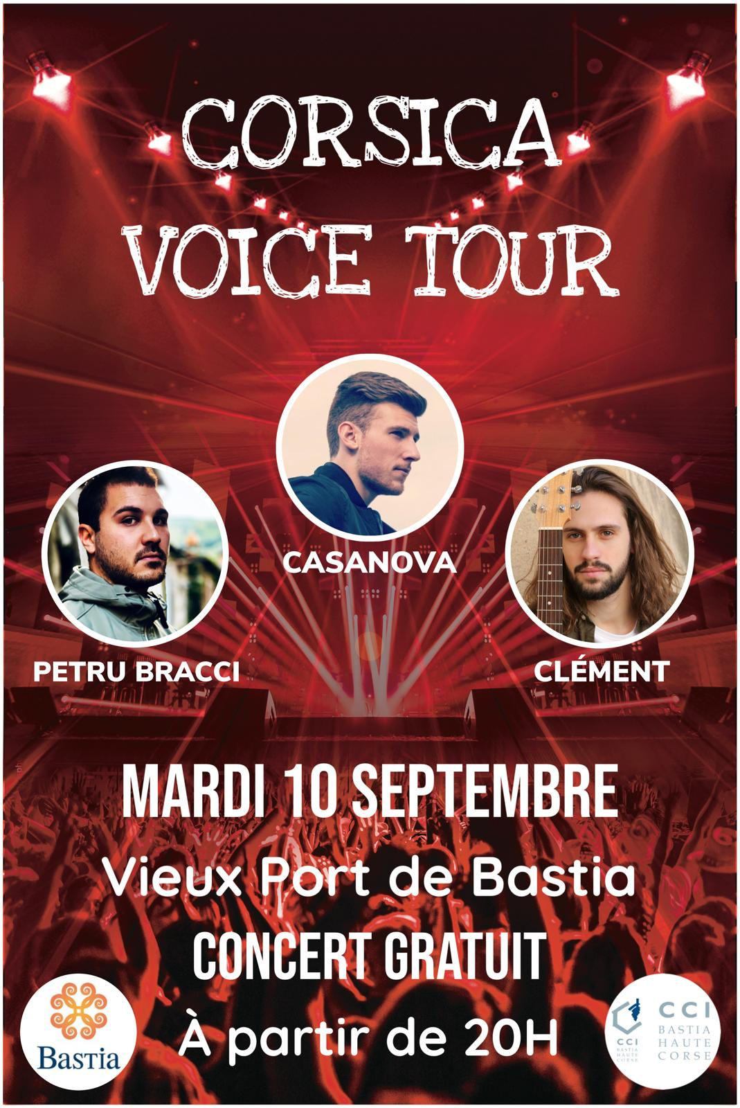 Ce Mardi 10 septembre le vieux port de Bastia va danser....
