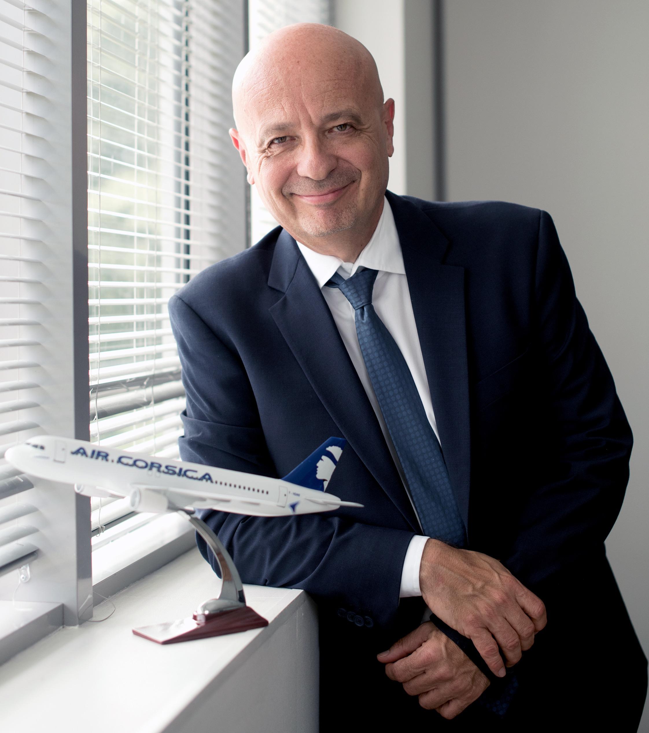 Luc Bereni prend la présidence du directoire d'Air Corsica