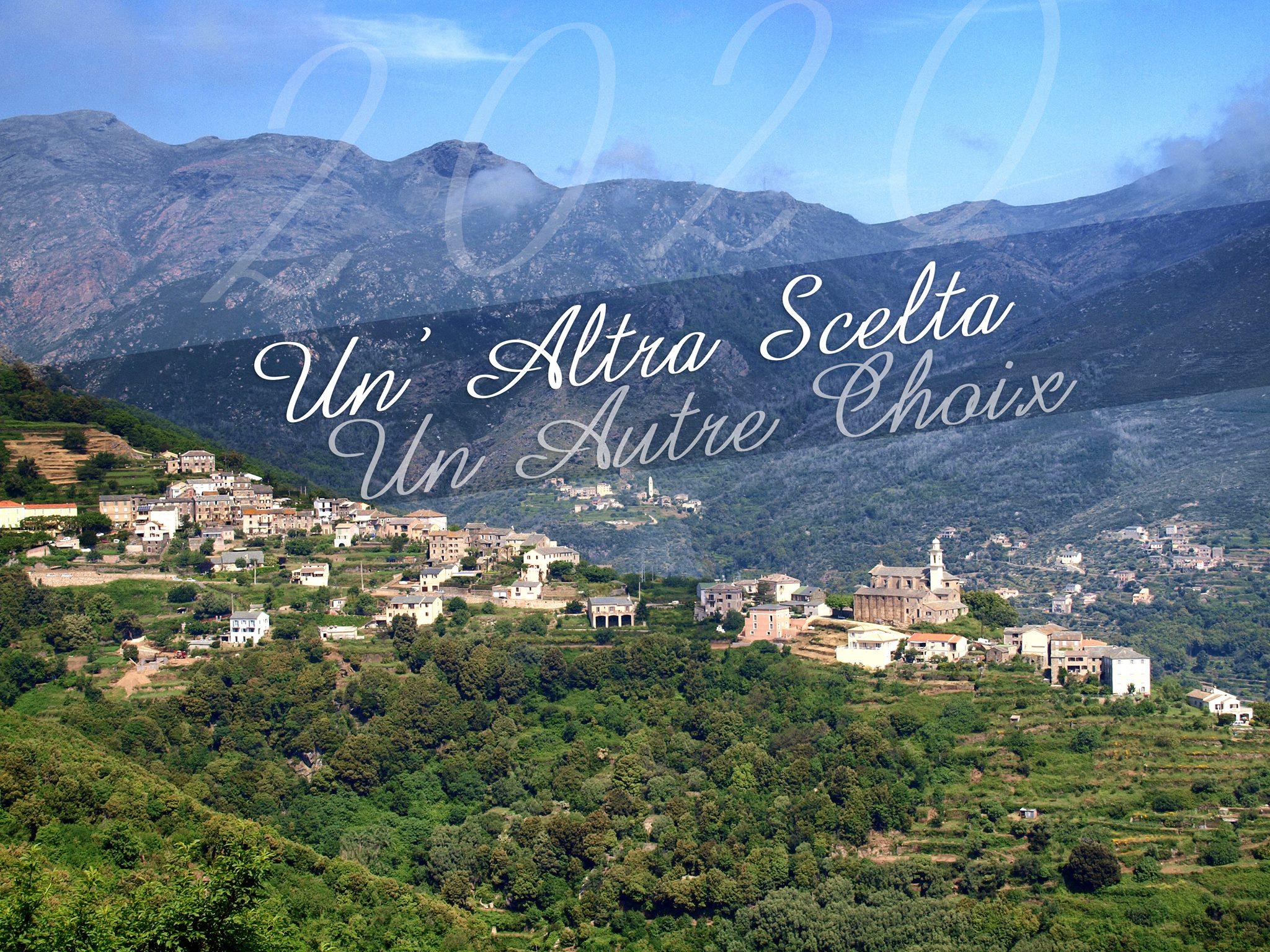 "Municipales 2020 - ""Un'altra scelta, Un autre choix"" pour San Martino di Lota"