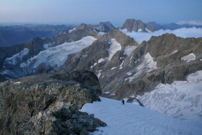 Le glacier de l'Ailefroide (http://www.guides06.com)