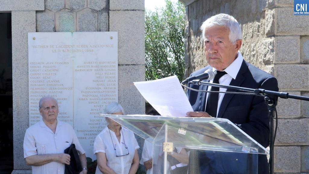 Mathieu Paoli, président de l'association des familles des victimes. Photo Michel Lucioni