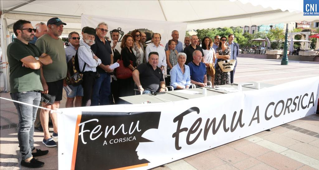 PLU et municipales : Femu a Corsica entre en campagne à Ajaccio