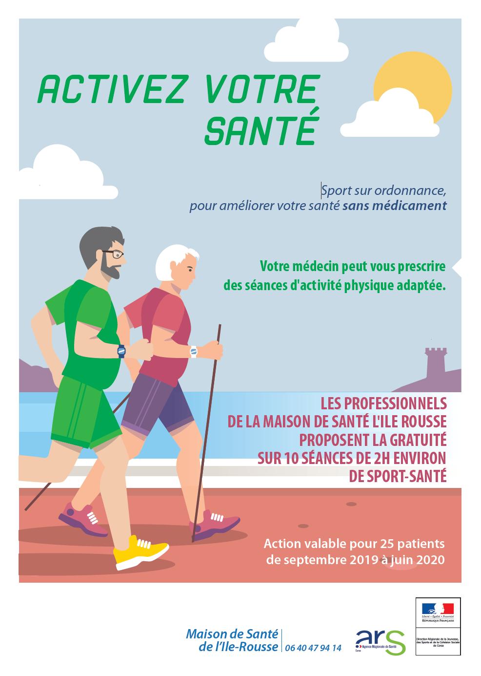 """"""" Sport et Santé"""", le nouveau projet de la maison de Santé de Lisula"""