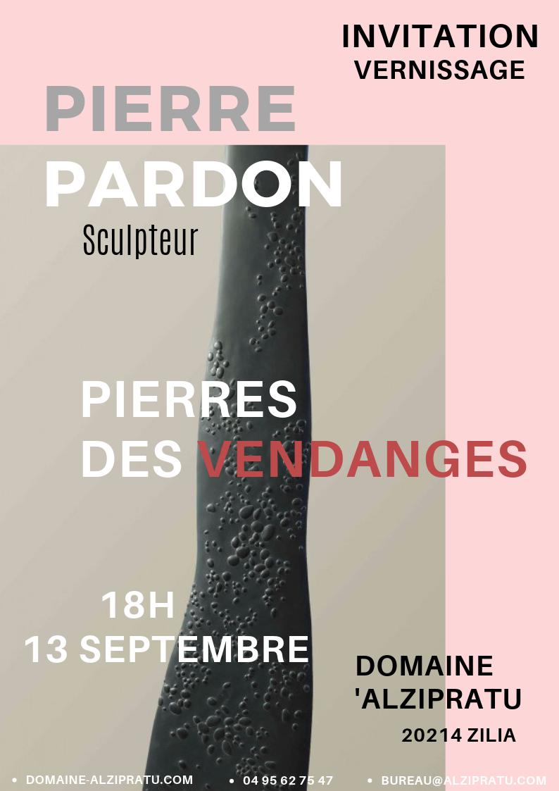 Exposition Pierre Pardon au Domaine d'Alzipratu