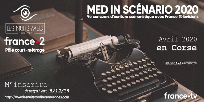 Med In Scenario 2020 : Appel à inscriptions jusqu'au 8 décembre