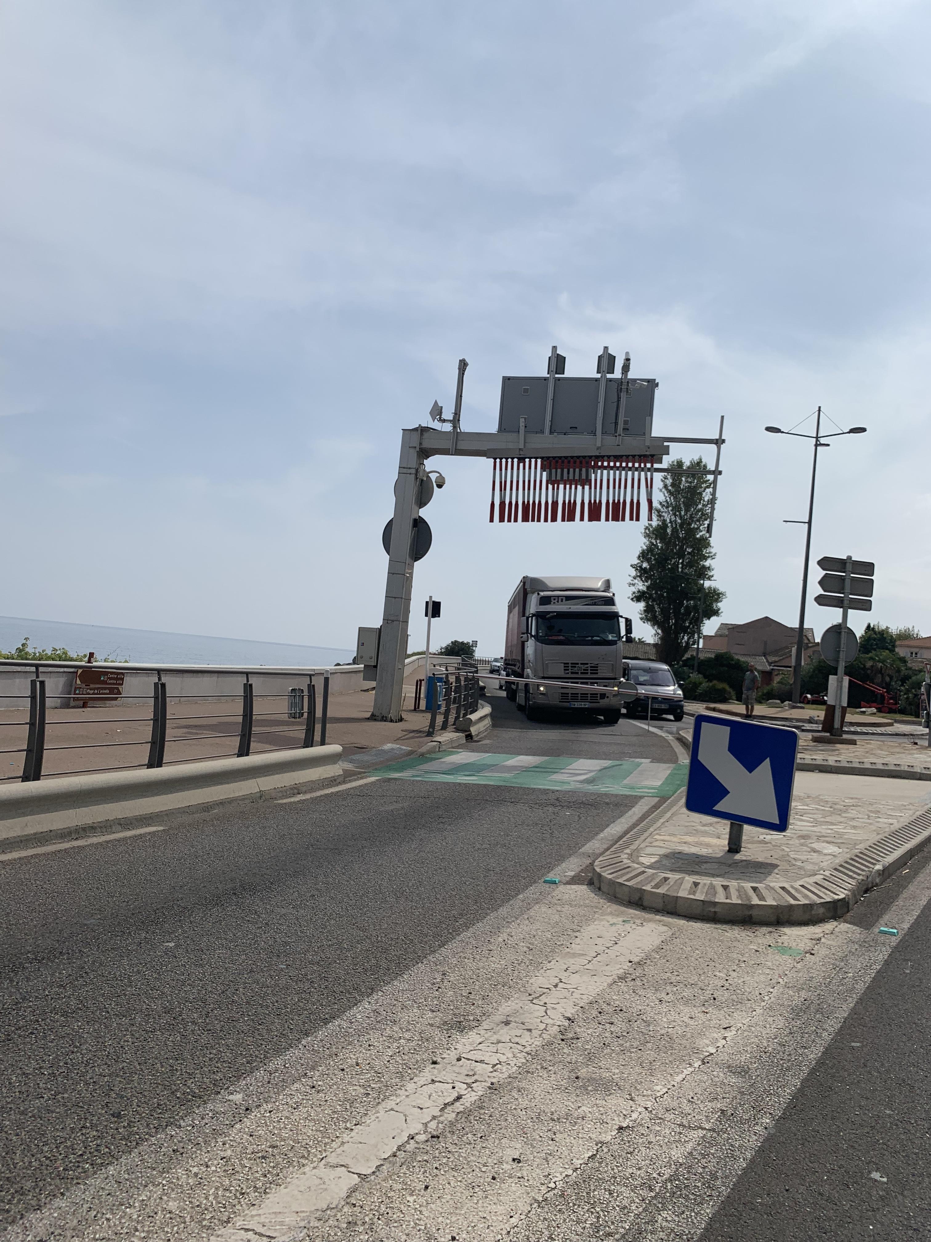 Info-trafic. Embouteillages a l'entrée de Bastia, le tunnel fermé dans le sens sud nord