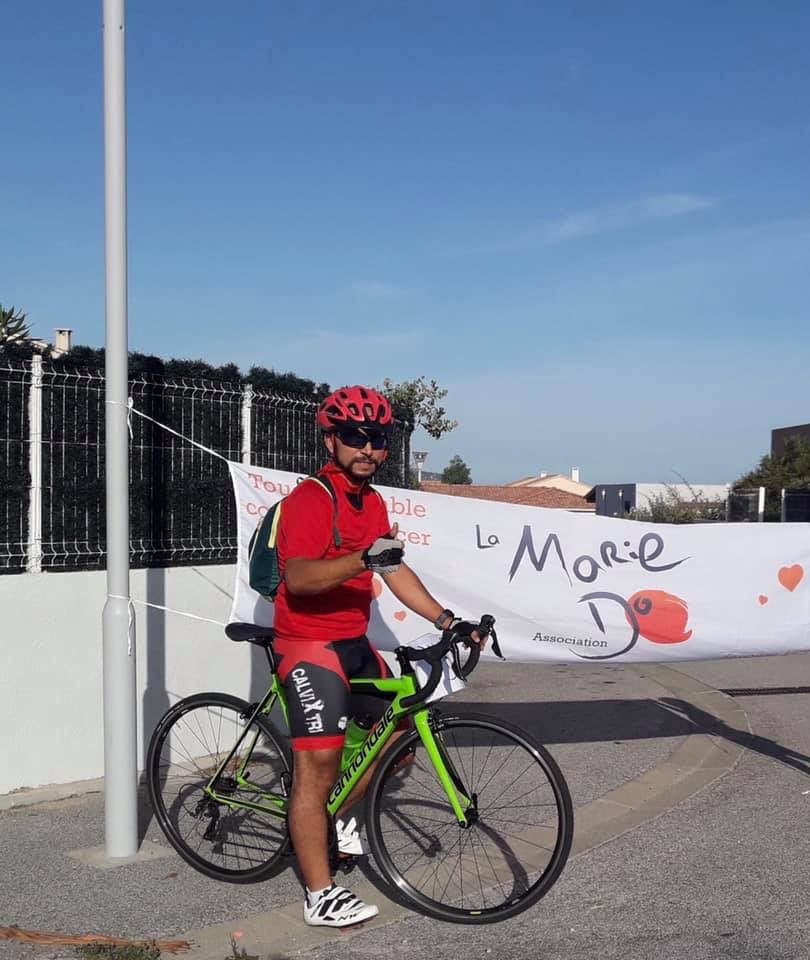 Une boucle de 300 km à vélo pour Morad Boustatin au profit de la Marie-Do Balagne