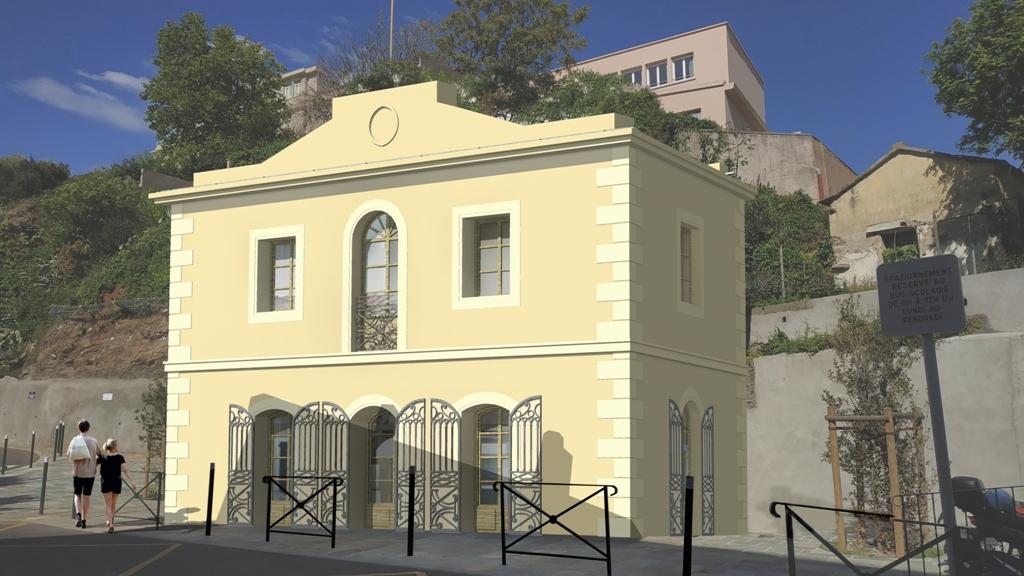 L'Octroi de St Joseph va retouver ses couleurs d'antan (crédit image ADP Architectes).