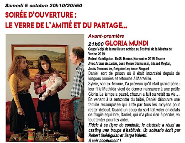 Festival Passion-Cinéma d'Ajaccio : 20 ans , ça se fête