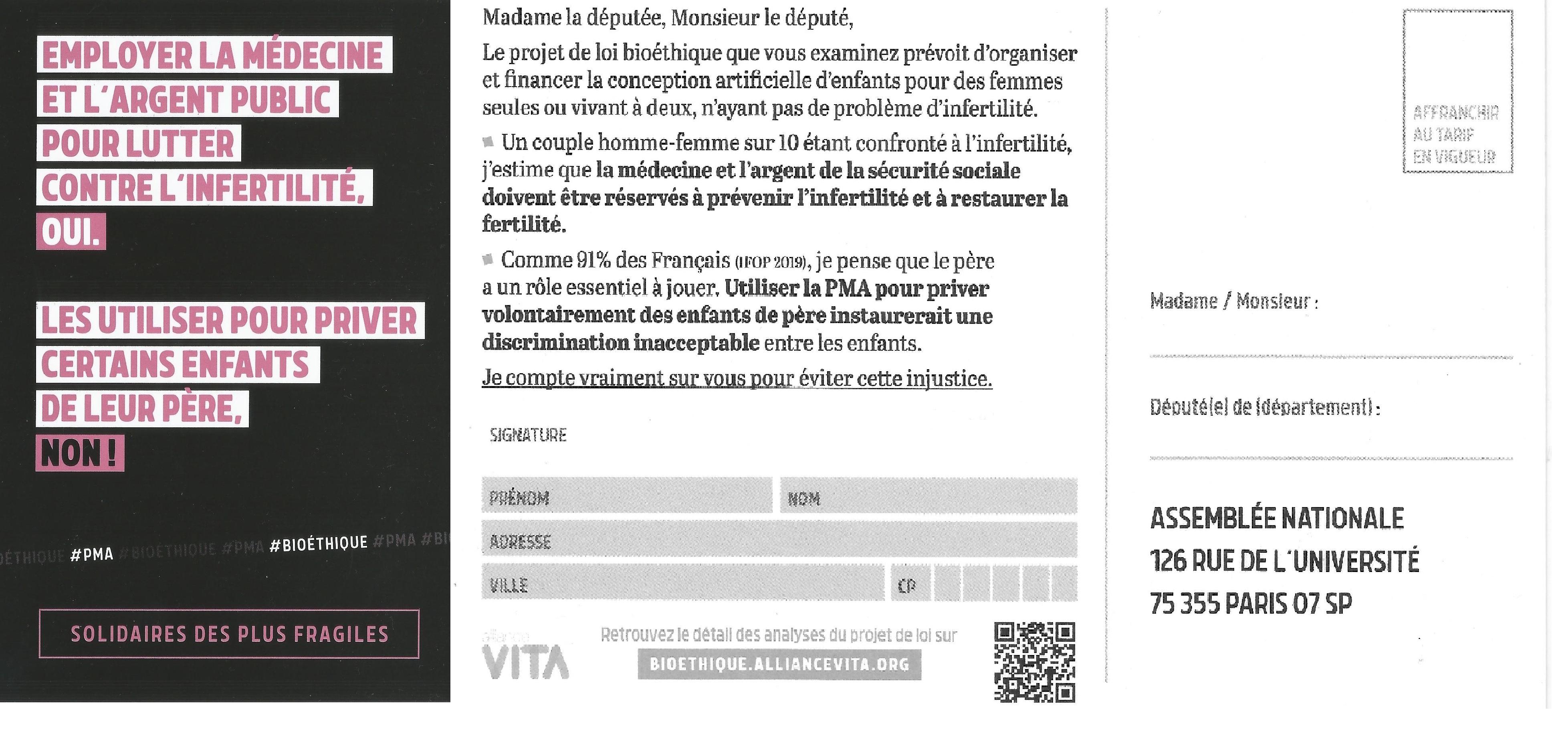 Bastia : Création d'une section corse de « Alliance Vita »